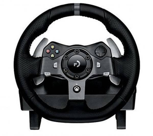 volant logitech driving force ps4