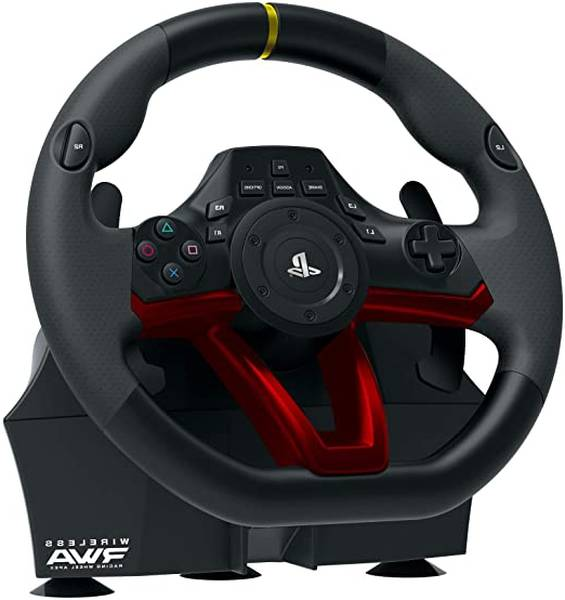 support volant ps4 blanc