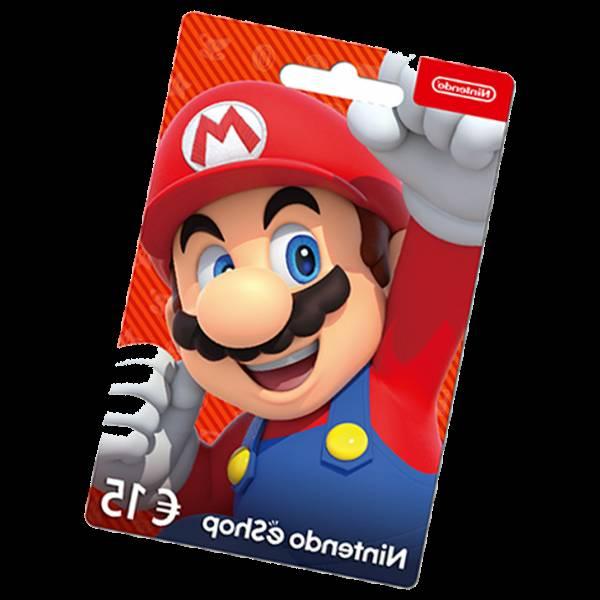 carte nintendo eshop switch 20€
